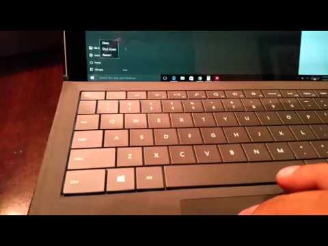 Surface Pro type cover issue