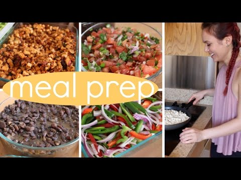 Meal Prep With Me // DIY Chipotle (cheap. easy. vegan.)