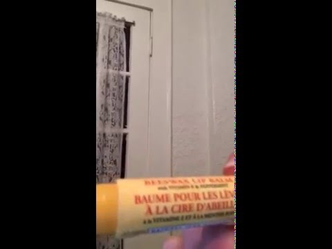 Burts Bees Lip Balm With Peppermint Review