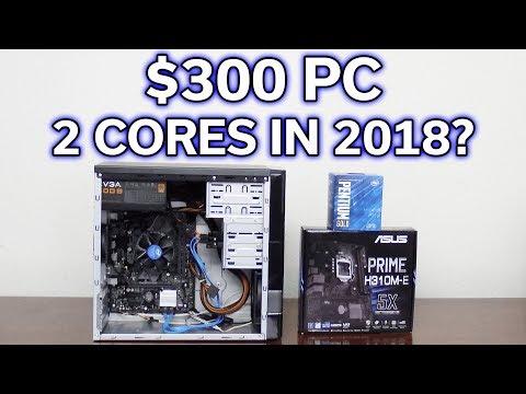 $300 Gaming PC - Pentium G5400 - Is It Worth It?