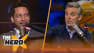 Colin Cowherd and Chris Broussard discuss their top NBA players of all-time   THE HERD