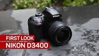 The Nikon D3400
