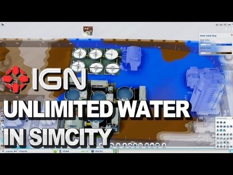 How to Get Unlimited Water in SimCity