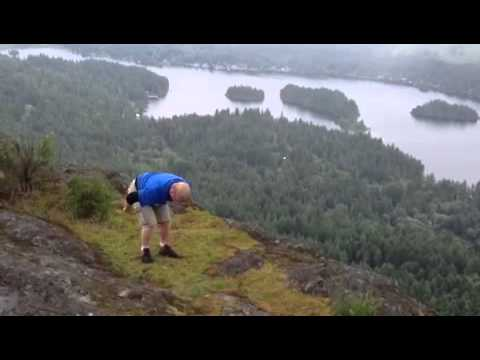 5 Backflips on the top of a Mountain