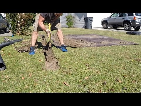 Digging a trench extension FAST