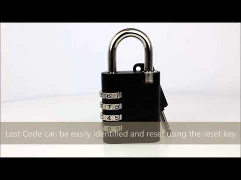 ABUS 158KC/45, 45mm Combination Master Key Padlock AP051