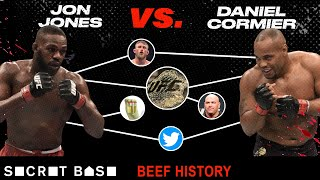 Jon Jones' beef with Daniel Cormier has fights, death threats, and sex pills