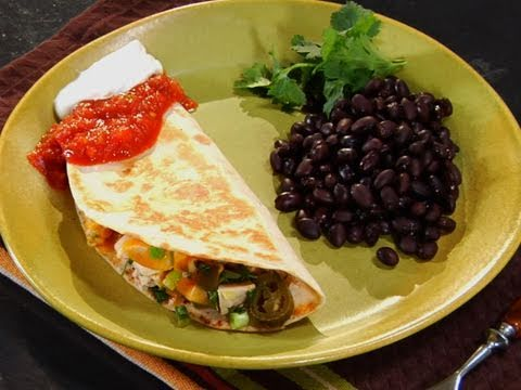 How to Make Spicy Chicken Quesadillas | MyRecipes