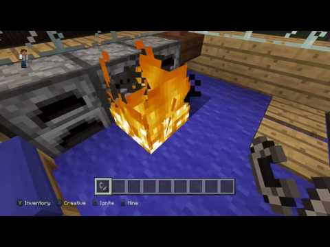 how to craft a flint and steel.minecraft xbox one edition.