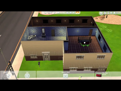 [PC] The Sims 4 | Building A Full Two Floor House
