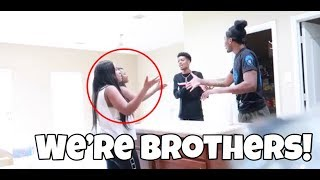 LONG LOST BROTHER PRANK ON AIRI & JASS!!!
