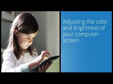 How To Adjust Screen Brightness Windows 7 In Hindi/urdu