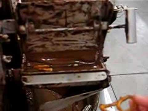 Making Chocolate Pretzels