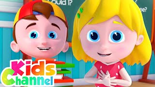 May I Please | Schoolies Song  for Children | Cartoon Videos from Kids Channel