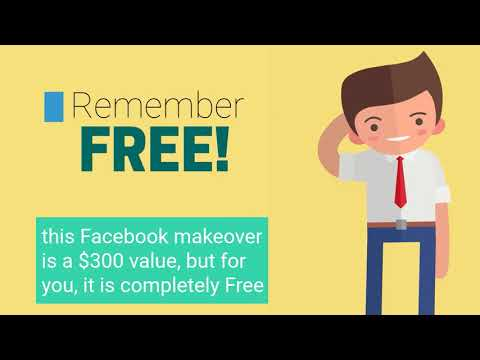 Free Facebook Fan Page Make-Over Video