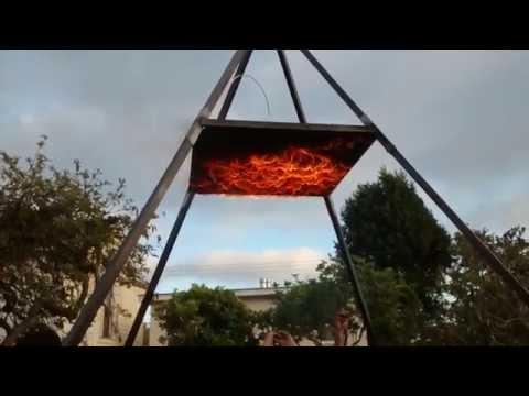 Fire Pyramid 08-23-15