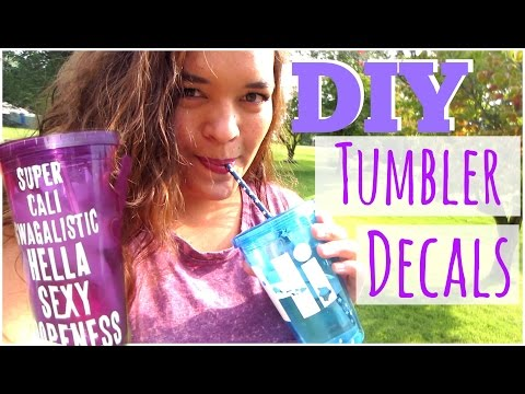 DIY | $1 Personalized Tumbler Cups | Dollar Tree