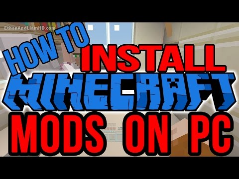 How to Install Minecraft Mods on PC : Windows : 2017
