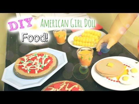 DIY American Girl Doll Food!