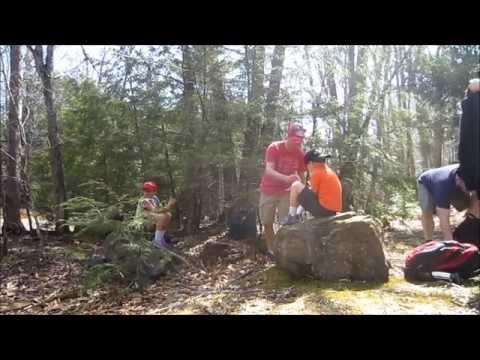 Catskill Hike - North South Lake 'Springtime hiking with Friends'