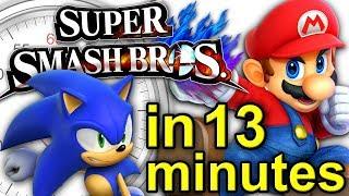 Super Smash Bros: The ULTIMATE History   A Brief History