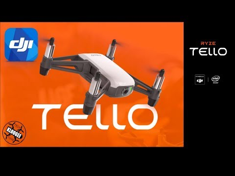 DJI Tello announced!!!! (Actually it's the Ryze Tello, powered by DJI)