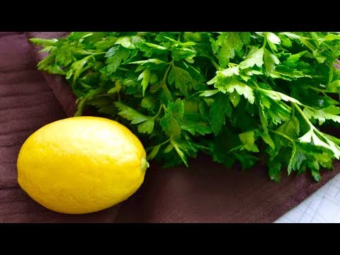 Drink Parsley And Lemon Tea On An Empty Stomach For 5 Days, THIS Will Happen To Your Body