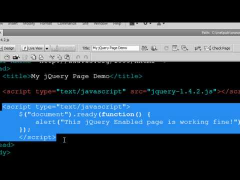 jQuery Tutorial - How to Display an Alert Box!