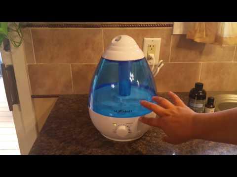 NEXGADGET Ultrasonic Cool Mist Humidifier - 1 Gallon