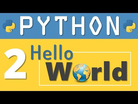 Python Tutorial 2: How to write your first Python Program by Manish Sharma