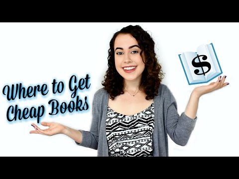 WHERE TO GET CHEAP BOOKS