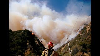 From Paradise to 'hell,' California fires blaze statewide