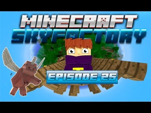 Minecraft - Sky factory #25 - Force Infuser  / Force Engine [DartCraft]