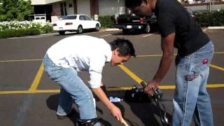 How To Freeze off a Lock with Compressed Air - Biola University