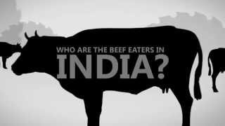 Who are the beef eaters in India?