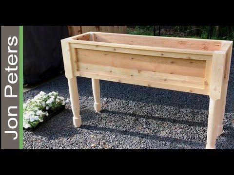 How to Make a Flower Box / Garden Planter