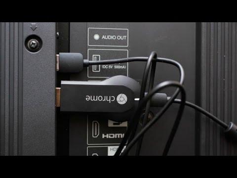 Stream Video & Music via Chromecast