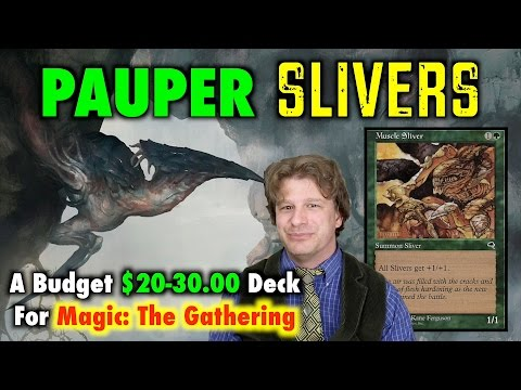 MTG - How To Build Pauper Slivers, A Budget Deck for Magic: The Gathering