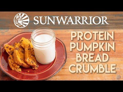 Pumpkin Bread Crumble | Sunwarrior