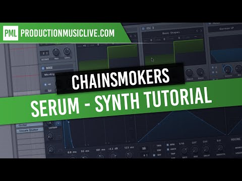Chainsmokers Synth Tutorial - SERUM Roses Future Bass Style