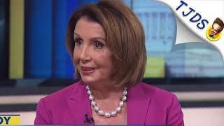 Nancy Pelosi Pretends She's Enemies With Wall Street