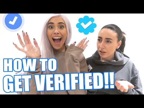 HOW TO GET VERIFIED ON INSTAGRAM & TWITTER!!