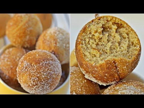 Quick Easy and Healthy Doughnuts in 15 Minutes    Drop Doughnuts Using Cake Pop Maker