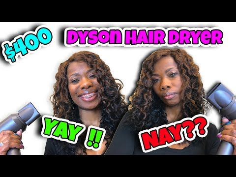 $400 DYSON HAIR DRYER - IS IT WORTH IT?? MY HONEST REVIEW