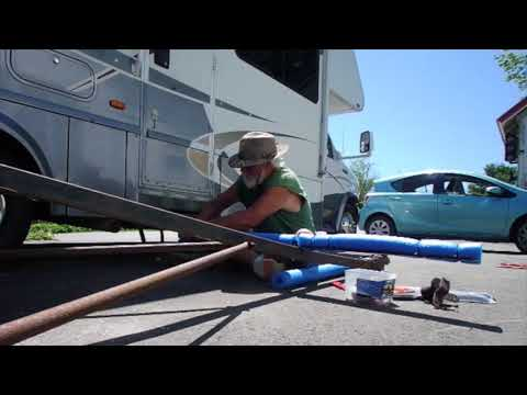 Making a kayak trailer 3 + the tax man and the Lord