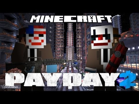 Minecraft - PayDay 2 EndGame (Part 3) GET THE PAINTINGS!