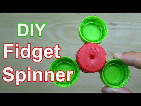 Make Fidget Spinner at home very simple