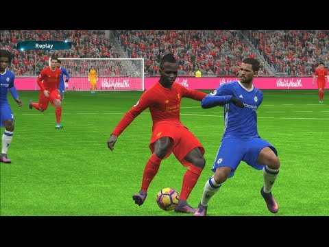 Liverpool vs Chelsea | Premier League 2016/2017 | PES 2017 Gameplay