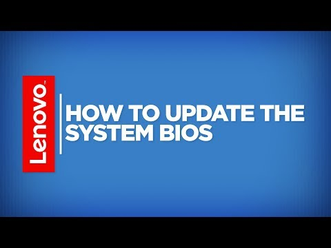 How To - Update System BIOS