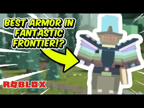 HOW TO GET THE BEST ARMOR IN FANTASTIC FRONTIER! | Roblox